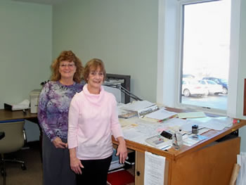 Lisa Bennett, Assessor and Dawn Woodbourne, Assessor's Clerk